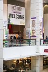 An amazing view of the Face and Body Midwest Spa Conference & Expo entrance.