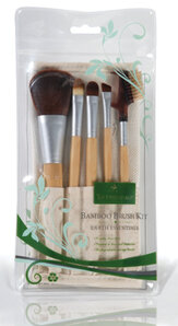 Gerda Spillmann Bamboo Make-up Brush Set