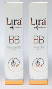 Lira Clinical BB Bronze 30 and BB Noir 30
