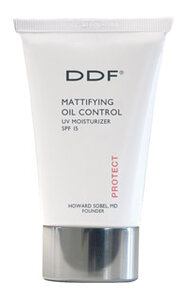 DDF Mattifying Oil Control UV Moisturizer SPF 15 and Acne Control Treatment