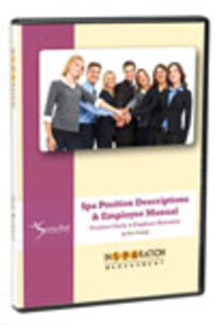 InSPAration Management Employee Manual and Spa Position Descriptions CD