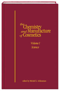 Allured Books The Chemistry and Manufacture of Cosmetics, Volume 1—Science book