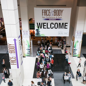 Entrance at Face & Body Midwest 2015