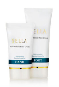 Sella All  Natural Skin Care Hand and Foot Cream