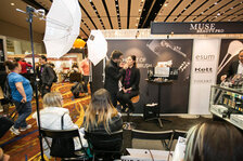 MUSEBEAUTY.pro offered many chances to see demos at their booth.