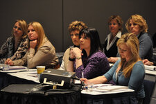 Conference attendees paid close attention and took notes in order to bring ah-ha moments back to their businesses.