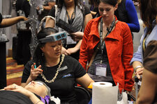 Different technologies were showcased at a variety of booths, offering spa professionals ways to offer different experiences to clients.