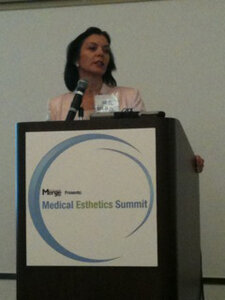 Susanne Warfield at Medical Esthetics Summit during Face & Body Northern California 2010