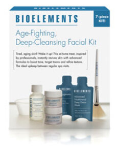 Bioelements Age-Fighting, Deep-Cleansing Facial Kit