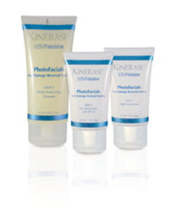 Valeant Pharmaceuticals Kinerase PhotoFacials Sun Damage Reversal System