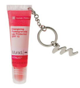 Murad Energizing Pomegranate Lip Protector SPF 15 Key Chain