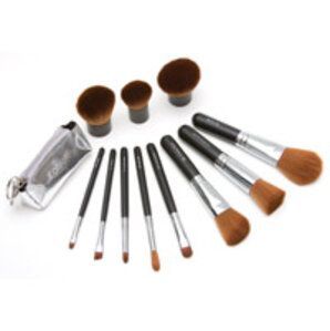 Auraline Beauty Vegan Mineral Makeup Brush Collection
