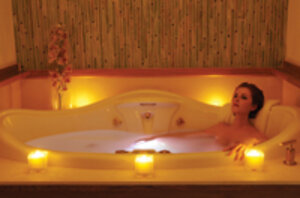 Tub treatment at Emerge Spa and Salon