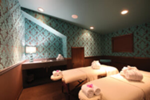 The newly constructed Shimmer Spa North at The Roxbury, Contemporary Catskill Lodging in Roxbury, NY