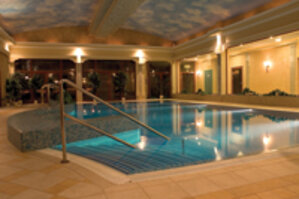 The spa at the Hotel Malinowy Zdrój