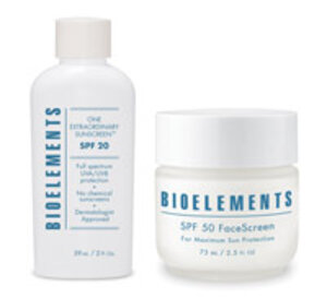 Bioelements One Extraordinary Sunscreen SPF 20 and SPF 50 FaceScreen