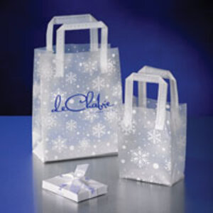 Frosted Snowflake Bags by Action Bag