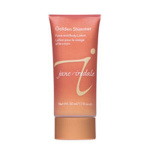 <em>jane iredale</em> Golden Shimmer Face and Body Lotion