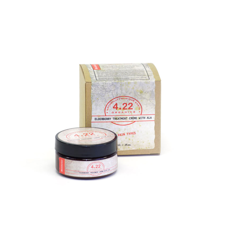 4.22 Organics Elderberry Treatment Crème with ALA