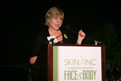 Annette Delagrange at Face &amp; Body