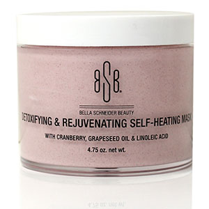 Bella Schneider Beauty's Detoxifying & Rejuvenating Self-Heating Mask
