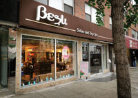 Besu provides a luxurious oasis in the middle of the hustle and bustle of New York City.