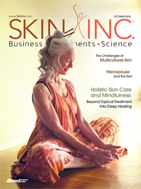 Skin Inc. October 2014 cover