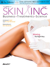 Skin Inc. July 2015 cover