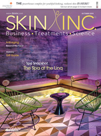 Skin Inc. October 2015 cover