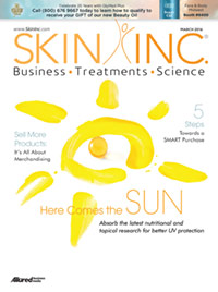 Skin Inc. March 2016 cover