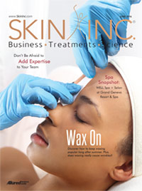 Skin Inc. June 2016 cover
