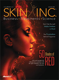 Skin Inc. August 2016 cover