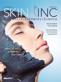 Skin Inc. January 2014 cover