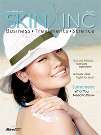 Skin Inc. May 2014 cover
