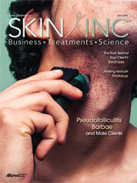 Skin Inc. July 2014 cover