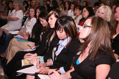 Face & Body education attendees