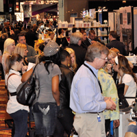 Attendees got down to business at Face & Body Midwest 2011 Spa Conference and Expo.