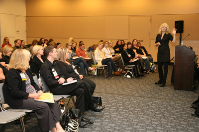 Deedee Crossett's class at Face &amp; Body 2008
