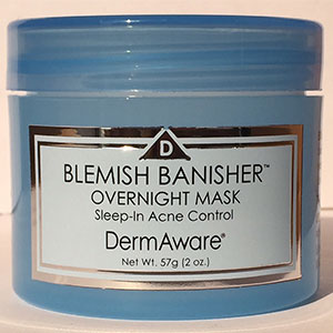 DermAware's Blemish Banisher Overnight Sleep In Mask