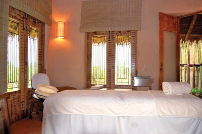 Six Senses treatment room