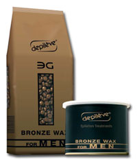 Depilve Waxs 3G Bronze Wax For Men