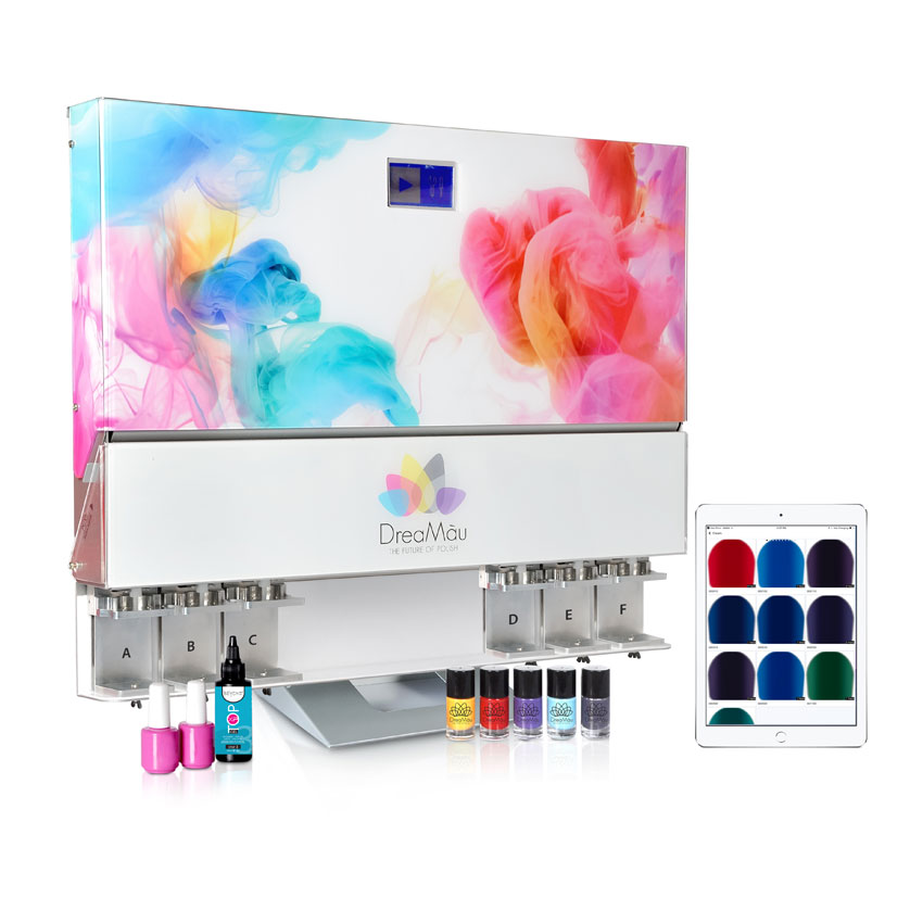 Dreamau's Custom Nail Polish Machine