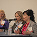 Jennifer Linder, MD, of PCA Skin; Manon Pilon of Physiodermie (Methode); and Colleen Shimamoto of DermaQuest led a panel discussion on medical esthetic trends during the Medical Esthetics Summit.