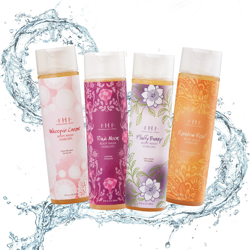 FarmHouse Fresh's Body Wash Collection