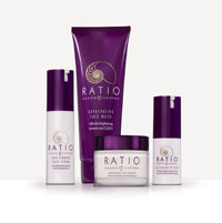 Ratio Skincare</a>, named for the special blend of the formula that combines just the right <em>ratio</em> of organic compounds with enhanced antioxidants, features products that contain organic ingre