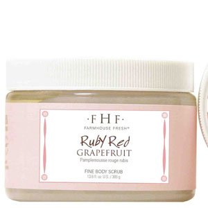 Ruby Red Grapefruit Salt Scrub