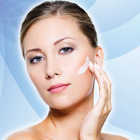 skin care client using peptide-based formula