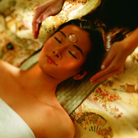 The 90-minute Gemstone Vitality treatment debuted at  Spa at Mandarin Oriental, Boston. Photo courtesy of the Mandarin Oriental Hotel Group.
