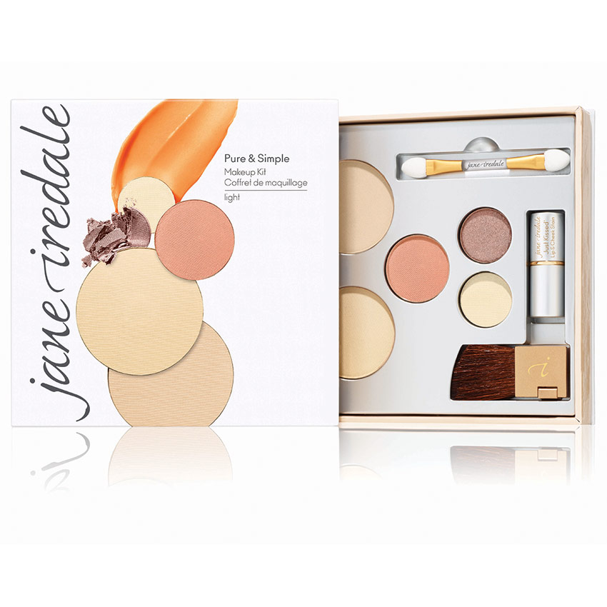 jane iredale's Pure & Simple Makeup Kit