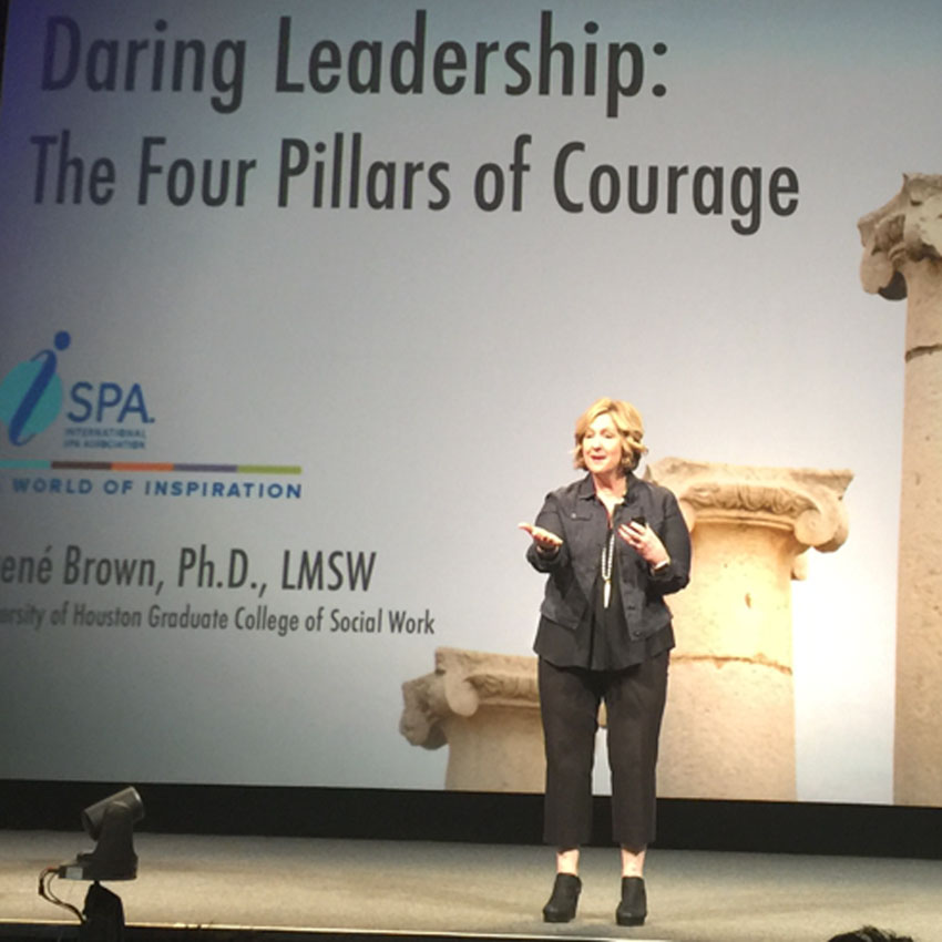 Brené Brown, ISPA keynote speaker